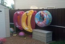 Pool floatie storage (first world problems)