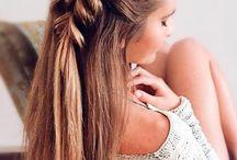 kampaukset pitkät hiukset
