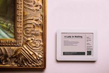 Museum Labels (Design + Interactive)