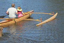 Outrigger Sailing Canoe Ulua