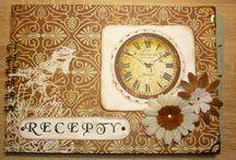 Scrapbook - receptáře