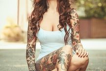 I like tattoed women