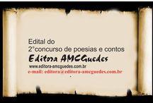 2° concurso literário de Poesias e contos ed. Amc. Guedes / 2°Concurso literário de Poesias e contos - editora AMC Guedes 2016. Regulamento em nosso site. www.editora-amcguedes.com.br