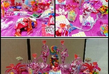 Birthday Candy Buffets / Every birthday needs a candy buffet.