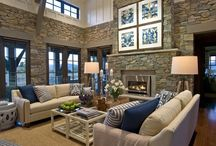 Brick Walls / Ideas re transforming interior brick walls and fireplaces.