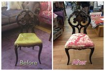 Bespoke handmade and reupholstered furniture