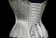 corset, gowns and elegant fashion