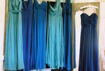 ♥ Mariage bleu ♥ / Le bleu représente le calme, la sagesse, la sérennité ou encore le rêve ! Une symbolique différente selon les nuances et les tons choisis.