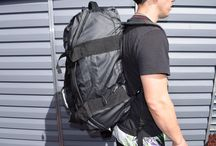 """Heavy Duty Endurance Duffle Backpack / Why have one bag for each circumstances. This Bago's Endurance Duffle-Backpack made to last & suit any situation. Vacation, work/tool carrying, Military Service, Gym, Shopping, Police & Rescue assignments, Stored & Ready Bag-Out Bag. Its ability to change its carrying nature and the high level of craftsmanship & engineering, allows it """"play"""" all rules.  Stylish and functional; it won't let you down! With its unique appearance it will be easy to spot the bag from a distance."""