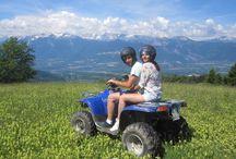 SoresQuad / Escursioni guidate in quad sull'altipiano della Predaia in #Valdi Non #Trentino