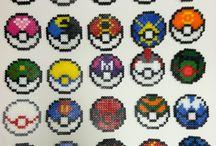 Pokémon pärlplattemönster