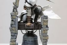 Assassin's Creed statues and figures