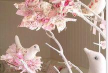 Charme et poésie ©Marimerveille / My works. l'Art du bout de tissu et de la récup'. Un univers tendre, rétro bohème, shabby, pièces uniques, petites mises en scènes poétiques. (Article L122-4 Toute représentation ou reproduction intégrale ou partielle faite sans le consentement de l'auteur ou de ses ayants droit ou ayants cause est illicite.