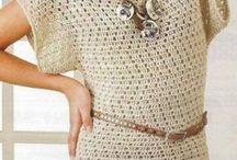Crochet Tunik Tops