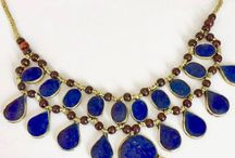 Afghan Lapis Lazuli tribal necklace