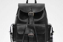 Black backpacks / Swish black backpacks