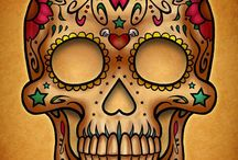 Mexican Skulls