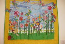 Blooming Marvellous / The 2015 YQ AGM Challenge them is 'Blooming Marvellous'. Entry is open to all Young Quilter members and you must register interest by 7 March 2015. The Doris Debney Prize (£100) will be awarded to the the best individual quilt. You can find out more details on how to enter here: http://www.youngquilters.org.uk/blog/agm-young-quilter-challenge-2015-theme-is-blooming-marvellous.html