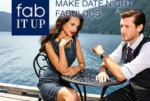 Date Night Inspiration / Tired of the same old dinner-and-a-movie routine? We'll show you how to turn your next date night into a fabulous evening to remember.