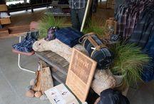 Camping winkel layout / Camping