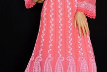 Lucknowi Chikankari kurtis / Buy Beautiful Handmade Lucknowi Chikankari kurtis at www.ishieqas.com