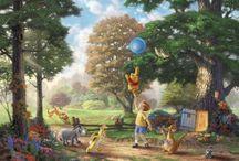 Disney - Thomas Kinkade