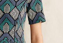 tribal and geometric prints