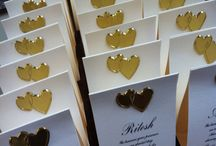 Personalised Chocolate Bar Placecards