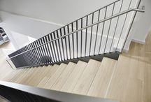 Treppen / Treppen sind längst nicht mehr nur der direkte Weg ins Obergeschoss, sondern sie sind ein detailreiches Gestaltungselement für eine optimale Raumwirkung.
