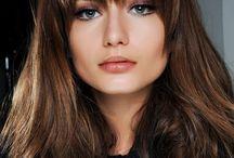Fringe style for fine hair