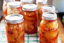 Recipes -- Canning Recipes & Tutorials / by Elaine May