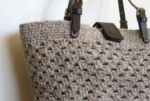 crochet bag and purse