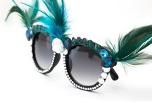Óculos customizados lindos!!!!