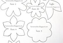 Cartamodelli feltro e panno lenci