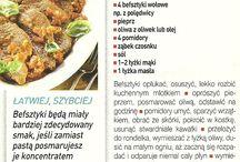 Przepisy kulinarne - potrawy z mięsa wołowego i cielęcego