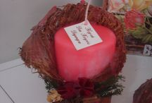 Palm bakla candles / Decorative candles