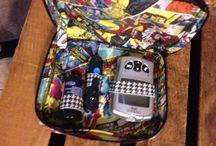 Diabetes supply pouches