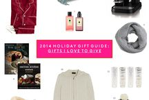 2014 Holiday Gift Guide / Holiday gift ideas!  / by Liz Adams // Sequins & Stripes