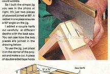 Bricolage cajones
