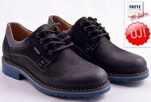 Fretz-Men férfi cipők / Fretz MEN cipők a kiváló svájci minőséget képviselik. Fretz Men Svájcban a legnagyobb cipőgyártó, a fejlesztés és a gyártás is Svájcban történik hagyományos családi vállalkozásban. Fretz MEN 100 százalékos tulajdonosa az egykori alapító Hans Fretz leszármazotai. Az általuk gyártott évente körülbelül fél millió pár cipőt, a legjobb minőséget biztosítják. A cipők nagy része a legújabb GORE-TEX ®  technológiával készül. A Fretz MEN márka több mint 25 országban kerül értékesítésre.