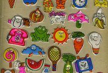 Childhood sticker album