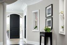 Paint colours interior