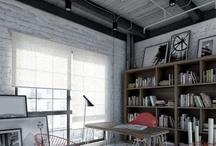Herringbone / Herringbone floors and walls
