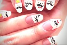 Animal Nail Art Designs / Take out your nail art kit and pick the cutest design to try on this list!