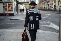ⅡⅡ COMB - London Collections Men - Day 3 Street Style / Taken in January 2016