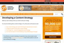 Create a Content Strategy / Want results from content marketing? Then create a content strategy - AND write it down. These are articles and other resources to help you do that.