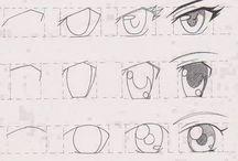 rysunek - oczy
