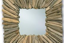 Driftwood / These pieces that utilize driftwood include lamps, tables, mirrors, and more.