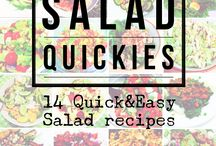 Healthy Salad Recipes // Low carb recipes / Healthy salad ideas // Healthy Recipes // Salad recipes - Get inspired and learn how to whip up these quick and easy recipes for lunch or dinner! Clean Eating // IIFYM // Healthy Food