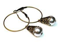 Handmade Dangle Earrings / by BluKatDesign
